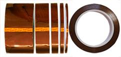 Double sided polyimide (Kapton) tape, double liner, 20m long