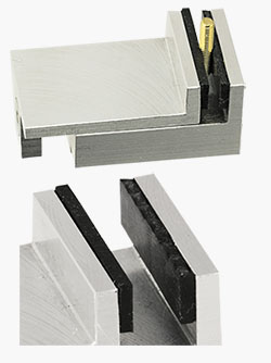 EM-Tec conductive soft jaw lining kit for vise type SEM sample holders