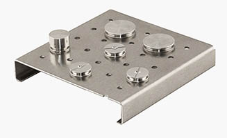 EM-Tec multi stub preparation stand for 23 pin stubs