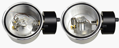 108 rotary-tilting stage (Ø120mm)  for 108auto sputter coater incl. 44mm short glass chamber