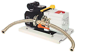 •	Dual-Vacset 108 pumping system to pump two 108 series coaters