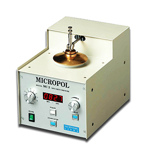 Micropol MC3 for precise grinding, polishing or dimpling of TEM samples