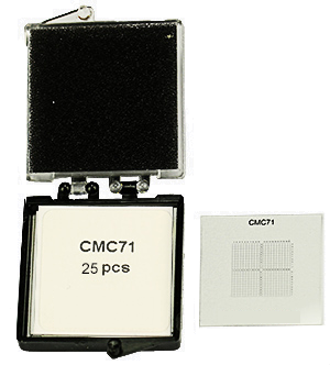 CMC Correlative Microscopy Coverslips
