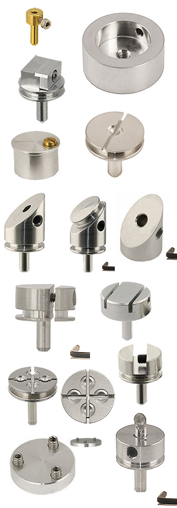 EM-Tec SEM stub based compact sample holders