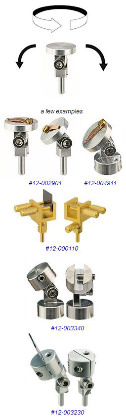 swivel or tiltet sem holders and mounts