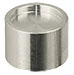 JEOL Dish stub, Ø12.2x10 with 1.5mm dish depth, aluminium