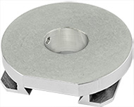 EM-Tec  JV60J versatile dovetail SEM stage adapter with JEOL 14mm stub connection for JEOL SEMs 6610, 6490, 6480, 6460, 5910, 5900, 5800 and JIB 4500 FIB/SEM