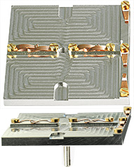 EM-Tec G2 twin geological thin sections holder for 2 petrographic slides up to 28x48mm, pin