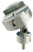 EM-Tec PS19 swivel clamp for up to 16mm samples, aluminium, pin
