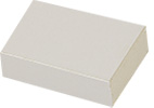 Micro-Tec B20 white sliding type cardboard box, 50x35x15mm