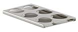 EM-Tec multi stub preparation stand for 6 JEOL or Hitachi Ø32mm stubs