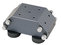 multi-angle EM-Tec PrepPod stand for horizontal, 45° and 90° pin stubs