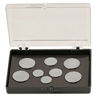 Nano-Tec AB8 AFM magnetic disc storage box for one AFM disc, 72x51x12.5mm