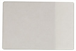 Micro-Tec large plain glass microscope slides with frosted edge, precleaned, 76x51x1.1mm