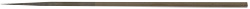 Micro-Tec T5 straight ultra-fine tungsten needle probe, Ø0.52mm with 0.6µm tip, 25mm long