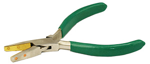 Value-Tec P25B flat nose pliers with brass lined jaws
