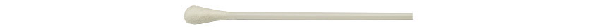 Micro-Tec S1 cotton tipped applicator sticks, single ended, round tip, plastic shaft, 75mm