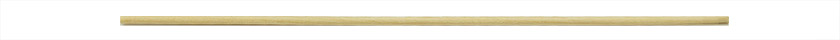 Micro-Tec RM round wooden applicator sticks, 150 x Ø2.3mm, birch wood