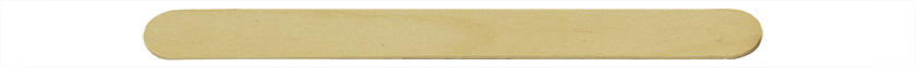 Micro-Tec FS flat wooden applicator sticks, small, 140 x 15 x 1.6mm, birch wood