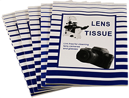 Premium quality Micro-Tec optical lens paper tissue for optical instruments cleaning and EM laboratory applications