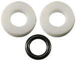 Replacement teflon feedthrough kit for Bradley carbon source
