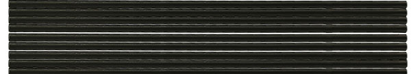 Ultra-high purity carbon rods 6.15mm x 305mm long, grade F-A