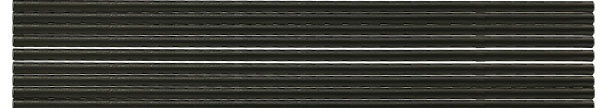 Ultra-high purity carbon rods 6.15mm x 305mm long, grade F-S