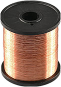 Copper evaporation wire, 0.2mm diameter, 99.9% purity