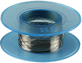 Tungsten evaporation/heating wire, 0.2mm diameter x 10 meter L, 99.5% purity