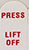 Lift-N-Press double sided premium adhesive tabs, Ø12.5mm, non-conductive