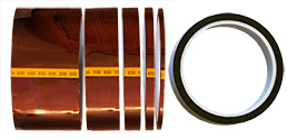 Low static single sided polyimide (Kapton) tape, 0.06mm thickness x 33m long